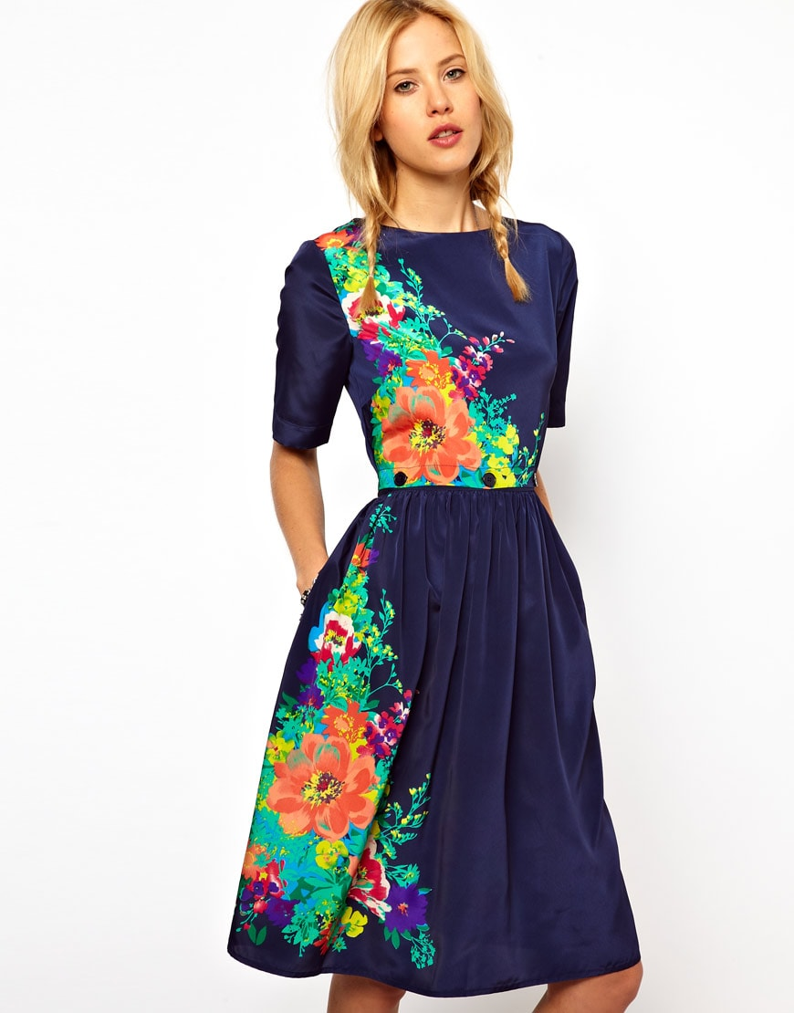 Todays Obsession 5 Fun Floral Dresses Under 75 ASOS Forever21