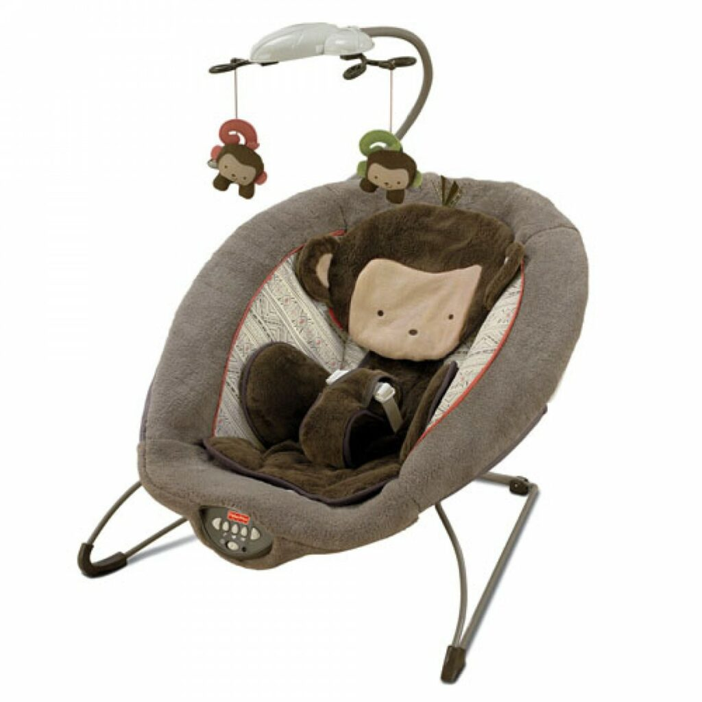 My Little SnuggaMonkey Deluxe Bouncer