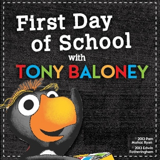 First Day of School With Tony Baloney