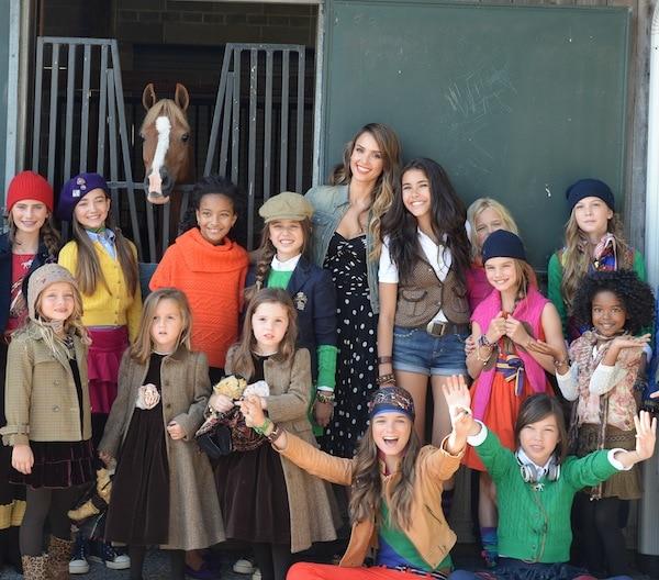 RALPH LAUREN Girls Fall 2013 Fashion Show