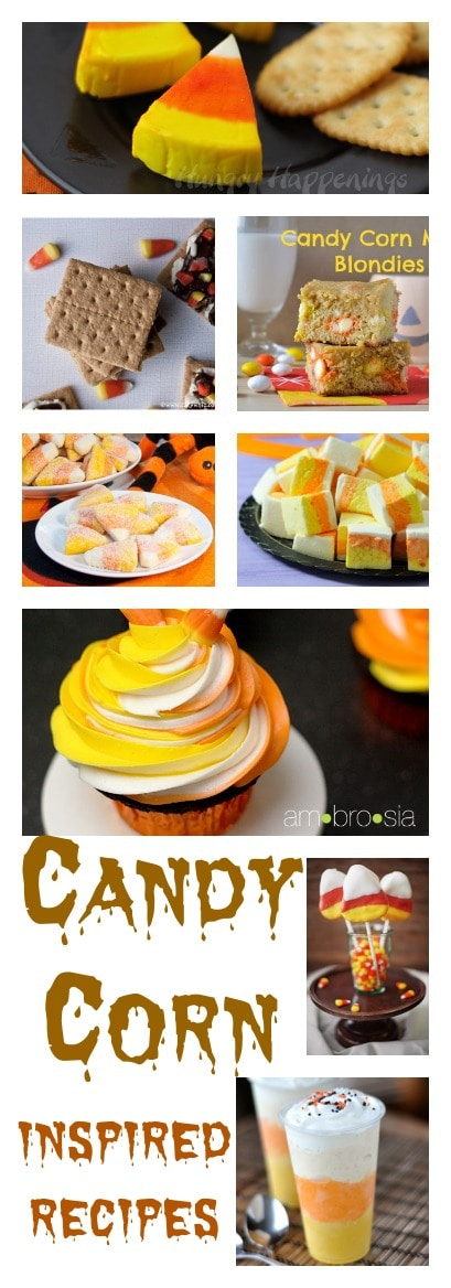 Candy Corn Inspired Recipes For Halloween