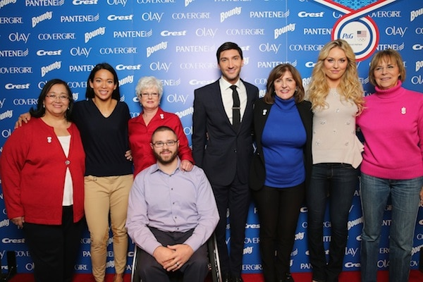 P&G Kicks-Off The 2014 Sochi Olympic Winter Games 'Thank You, Mom' Campaign With A Screening Of Their 'Raising An Olympian' Films