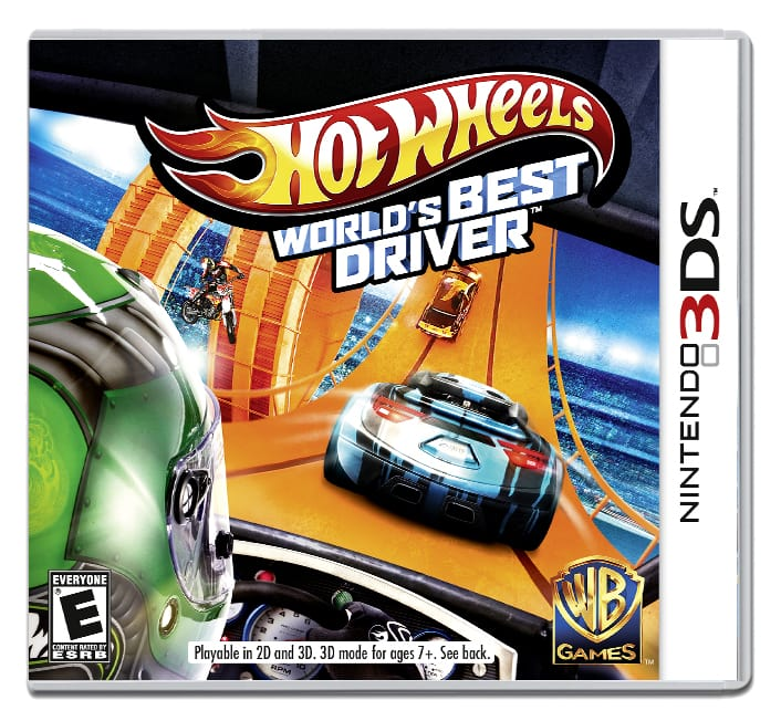Hot Wheels World's Best Driver - 3DS {Front]