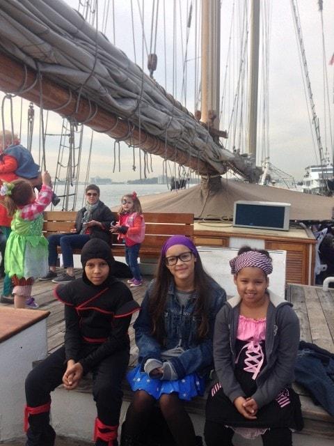 Manhattan by Sail's Clipper City ship