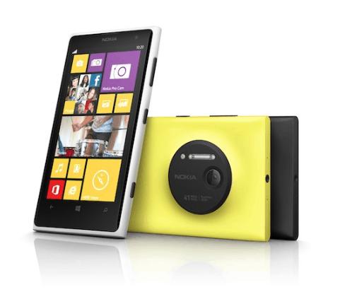 Lumia 1020 41 mp Camera Phone
