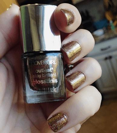 seared bronze covergirl nail polish capitol