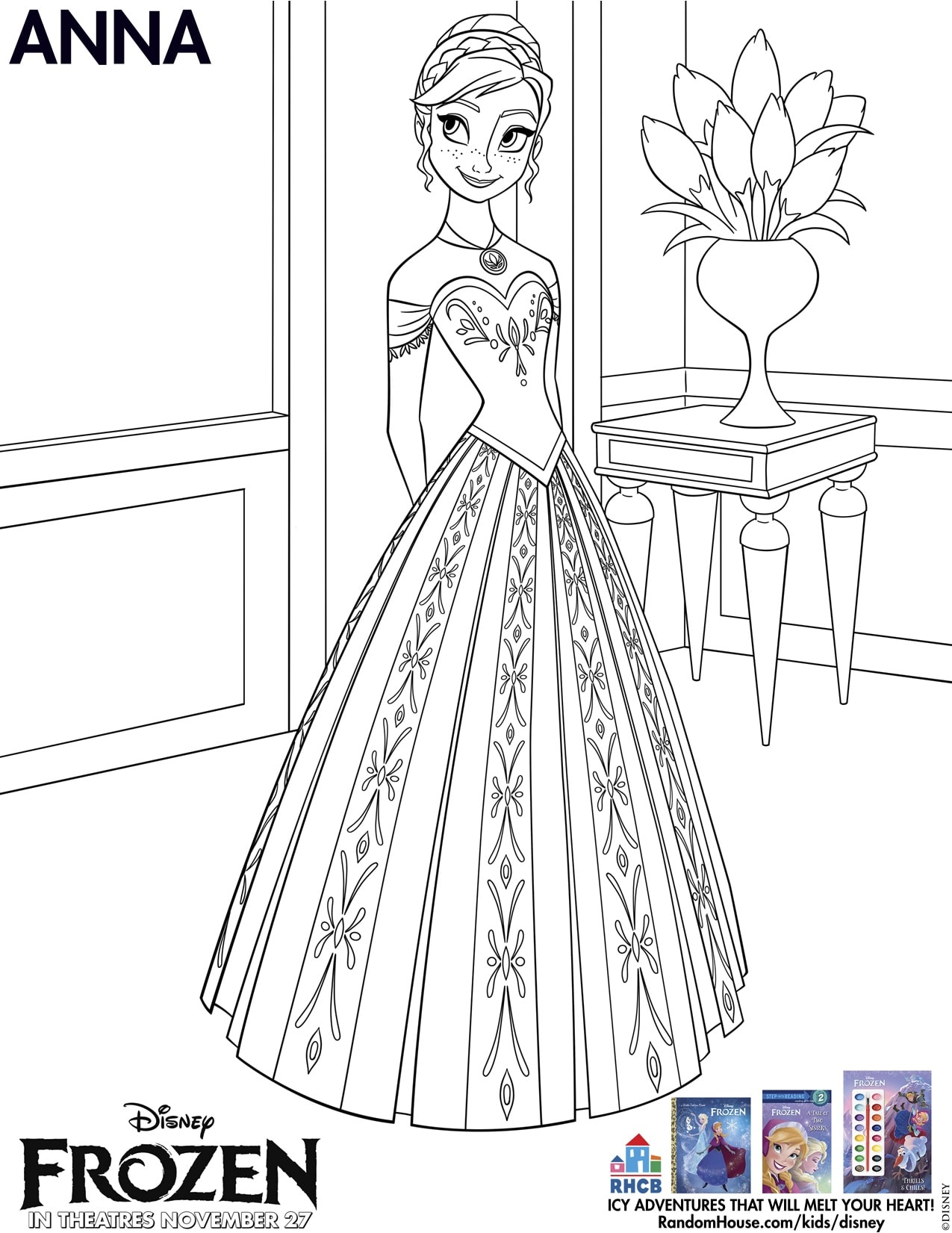 Disneys Frozen Free Printables For Kids Lady And The Blog