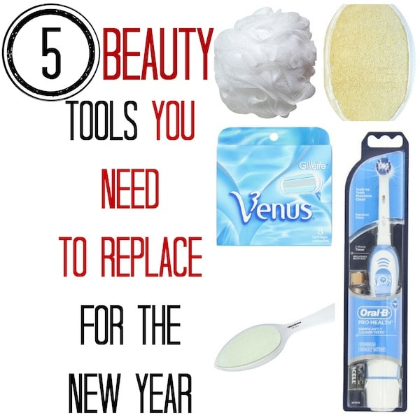 5 Beauty Tools You Need To Replace For The New Year