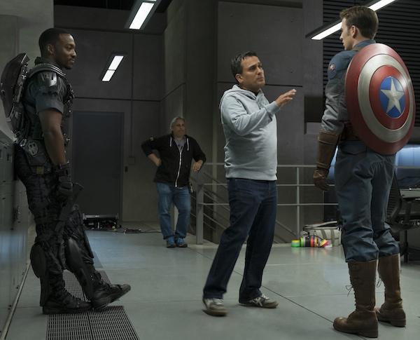 Captain America Winter Solider Scene