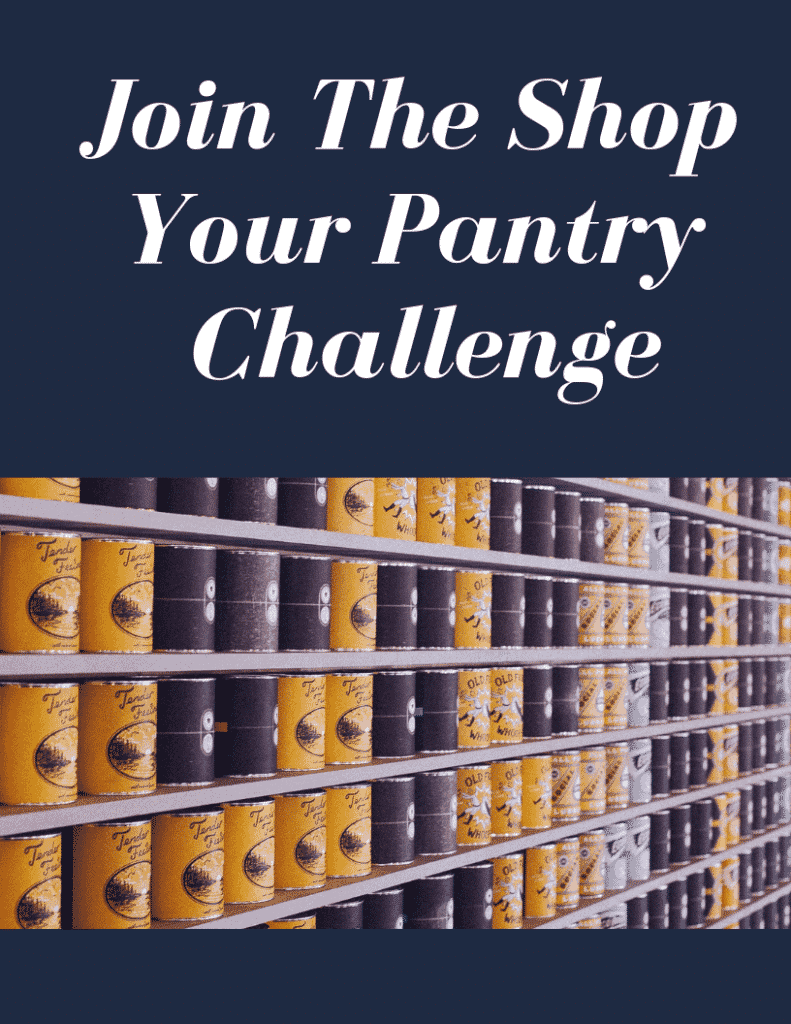 Join The Shop Your Pantry Challenge