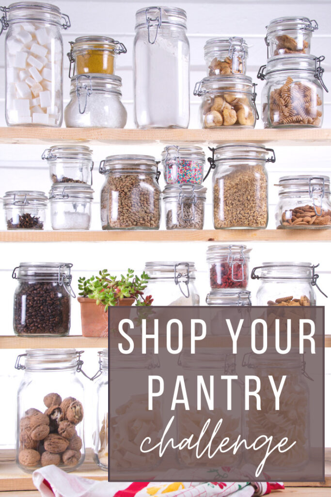 learn how to shop your pantry and save money