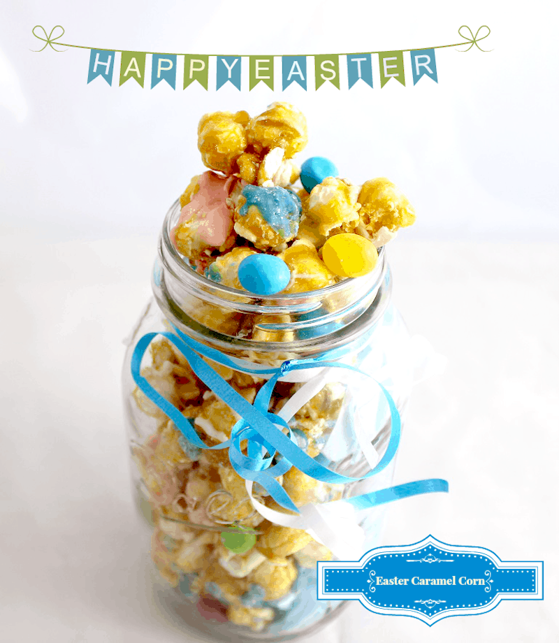 Easter Caramel Corn: Easy Treat To Make For The Kids