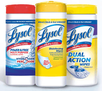Lysol helps combat cold and flu