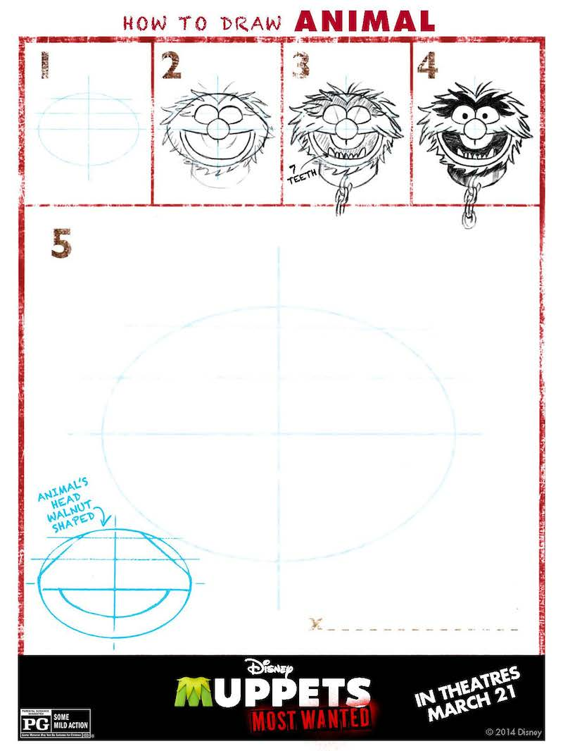 How To Draw The Muppets: Animal