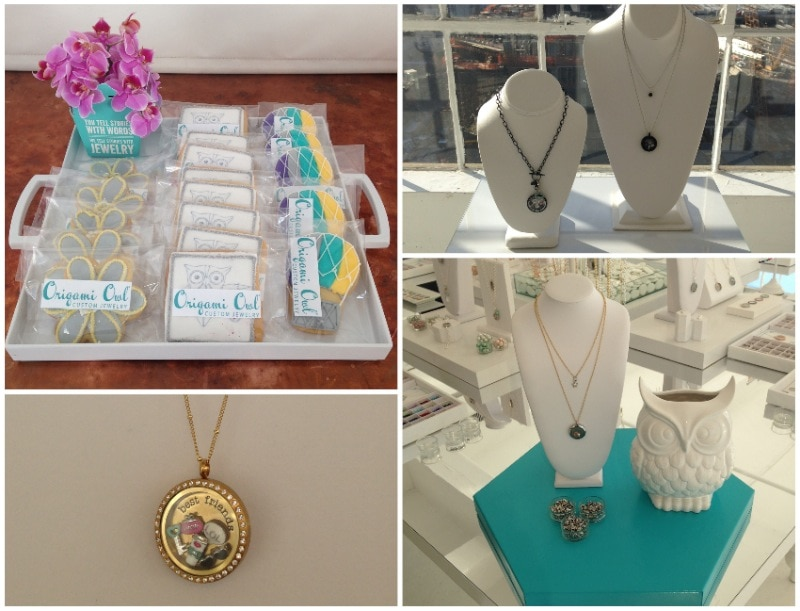 Origami Owl Jewelry Display