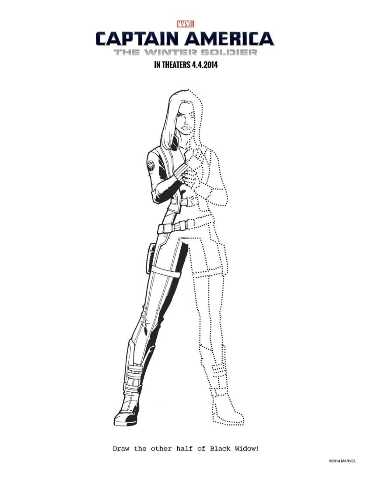 FREE Captain America 2 Coloring Pages: Download Printables Here ...