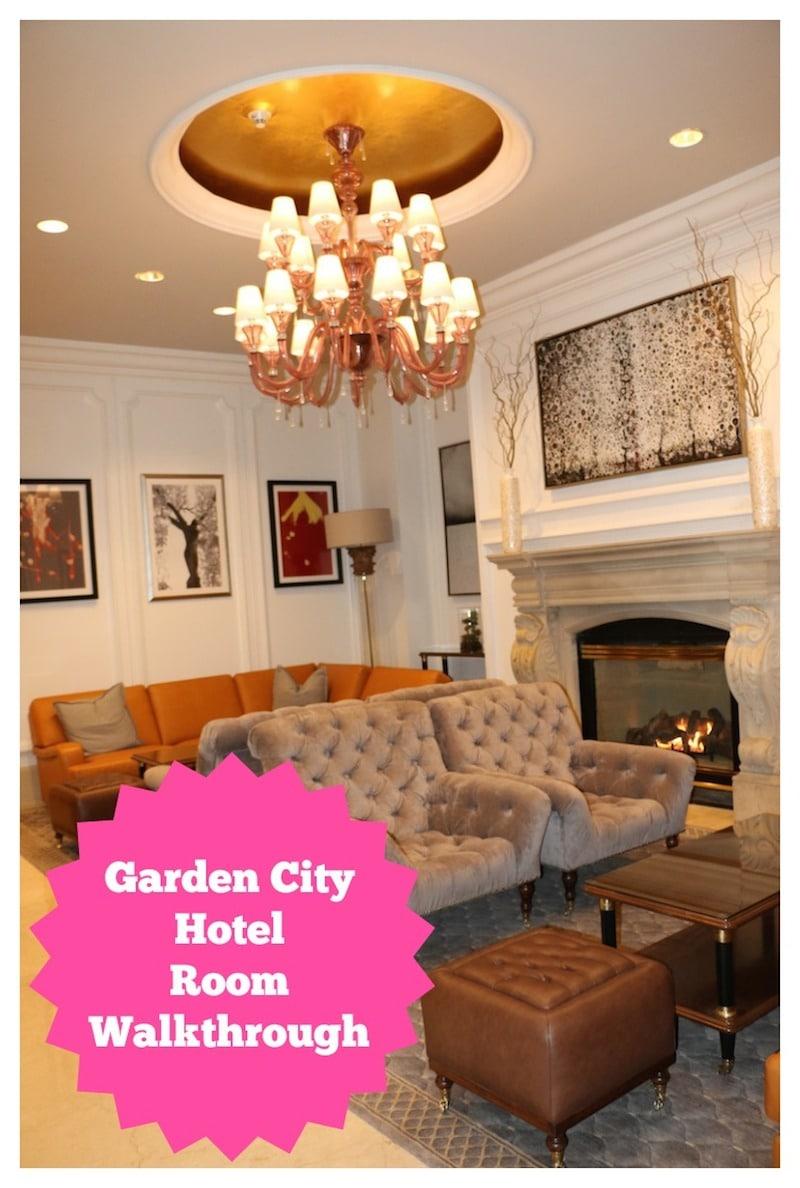 Garden City Hotel Renovations: Hotel Room Walkthrough