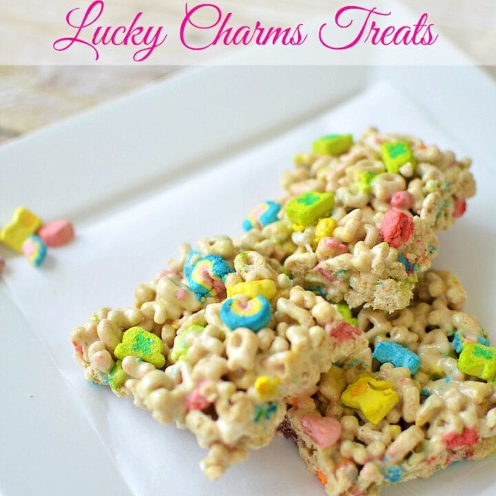 Lucky Charms Treats Recipe for St. Patrick's Day