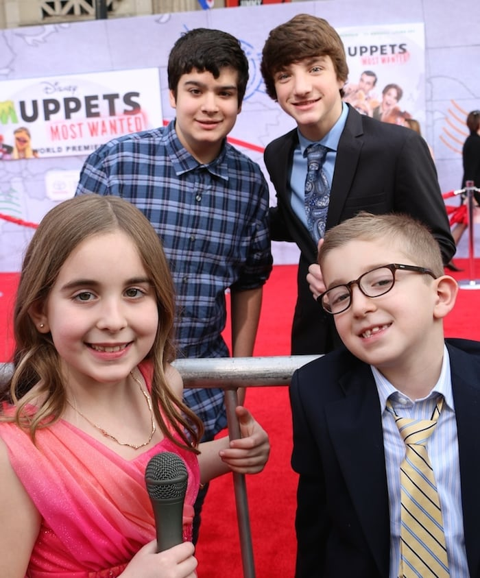 Muppets Most Wanted Premiere And Red Carpet