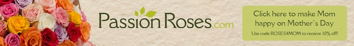 PassionRosescom Mother's Day Long Banner-ROSES4MOM
