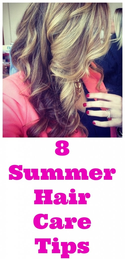 8 Summer Hair Care Tips