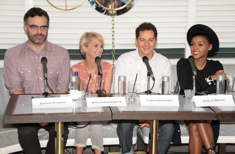 Rio 2 cast interview junket miami