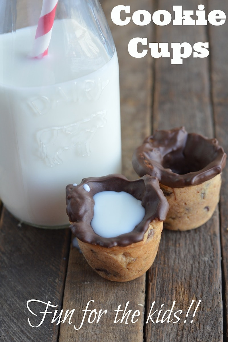 Cookie Cups Recipe - How To Make Chocolate Chip Cookie Cups
