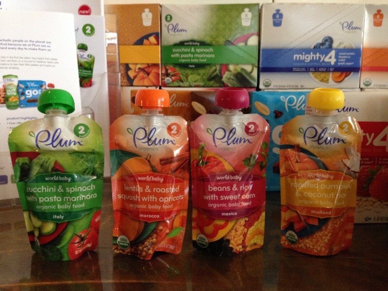 Plum Organics: Nutritious Food for Babies and Toddlers on the Go