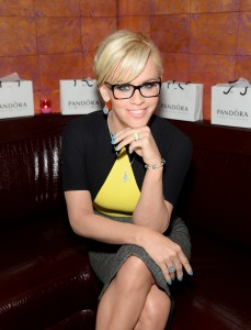 Pre- Mother's Day Dinner With Jenny McCarthy wearing Pandora Jewelry at Beauty and Essex in NYC on  (Photo by Jamie McCarthy/Getty Images for Pandora Jewelry)