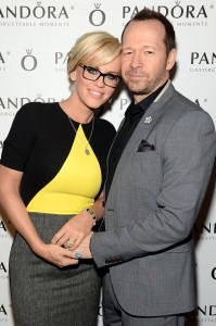 Jenny and Donnie Wahlburg (Photo by Jamie McCarthy/Getty Images for Pandora Jewelry)