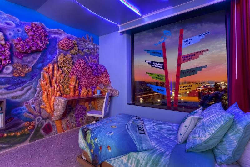 Omni Hotel San Antonio: New Kid's Suite With Aquatica Theme Has A Slide