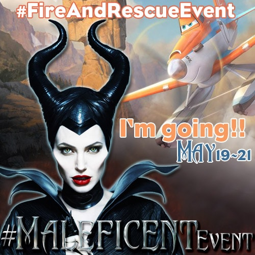 Maleficent Event button