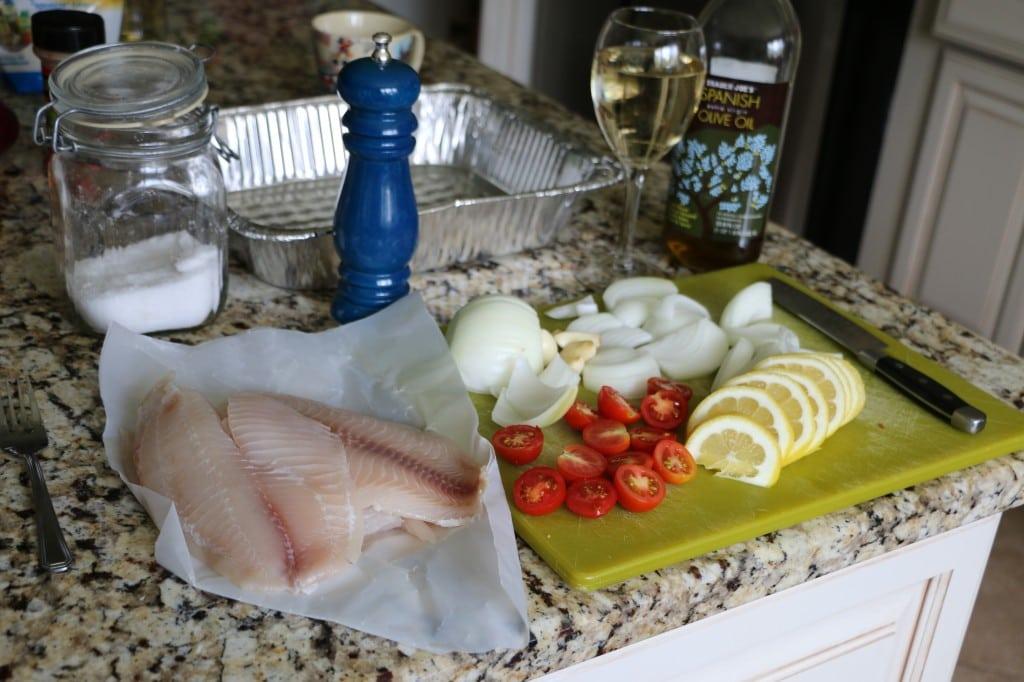 Tilapia Recipe Lemon Tomato Onion
