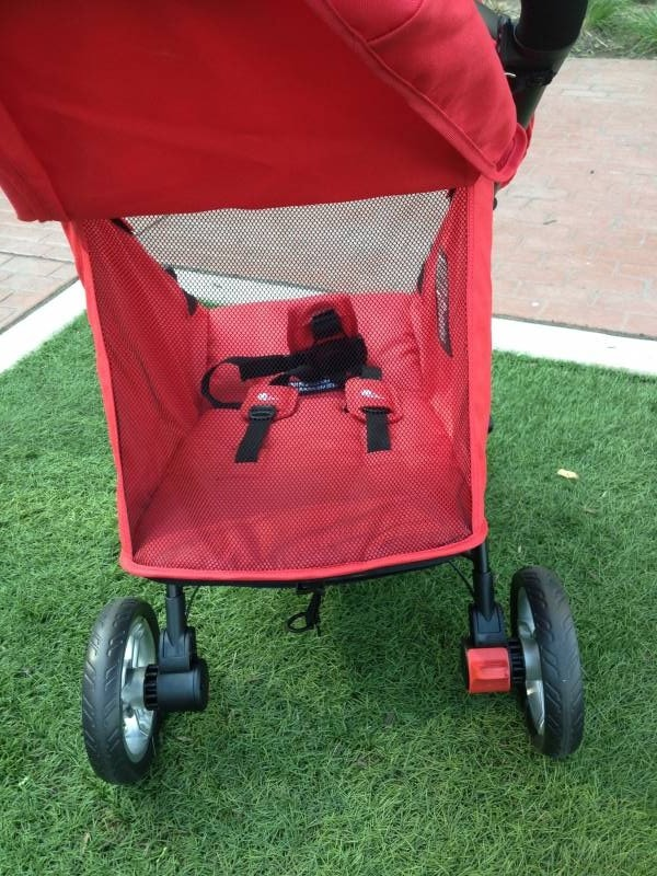 view of city lite jogging stroller