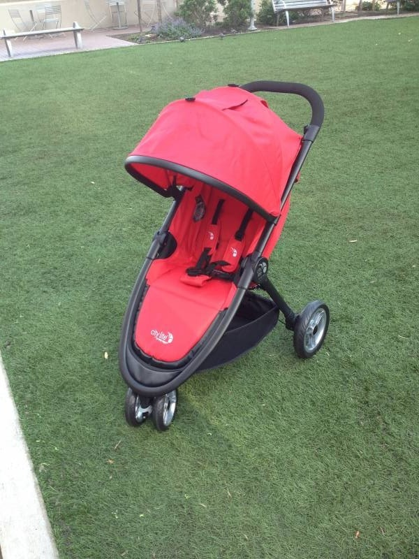 city lite jogging stroller