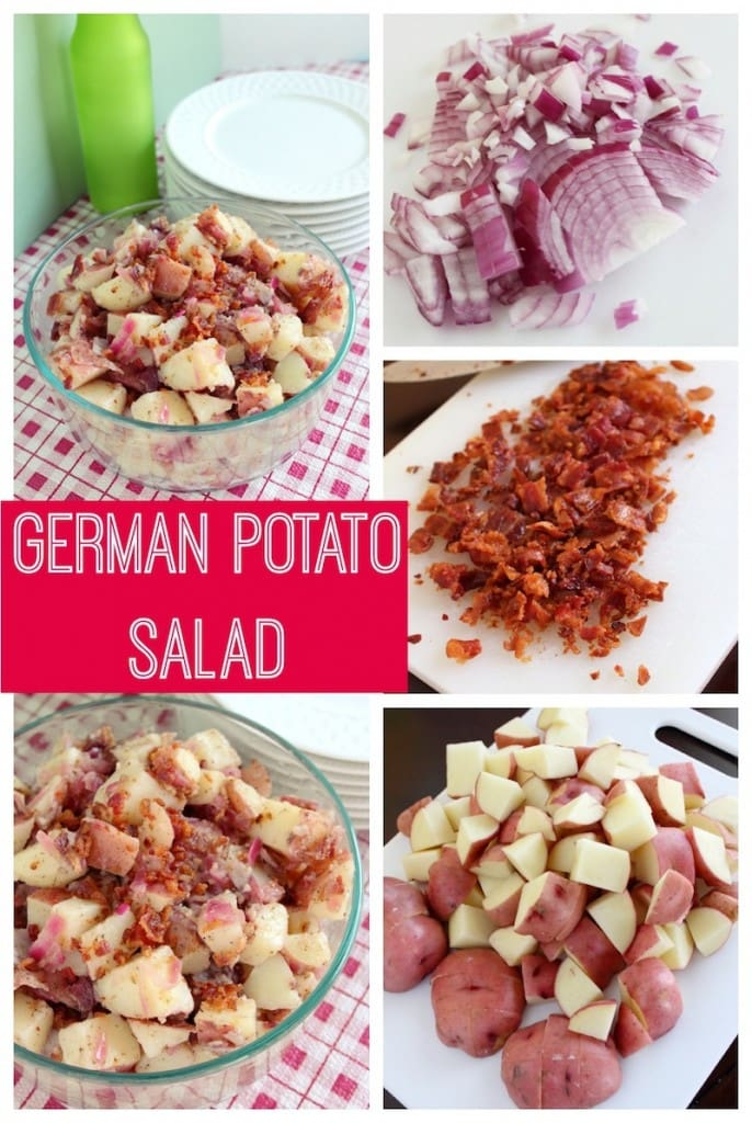 German Potato Salad Recipe - Perfect BBQ Side Dish
