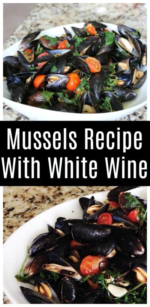 Mussels Recipe With White Wine  - Easy Appetizer For The Holidays