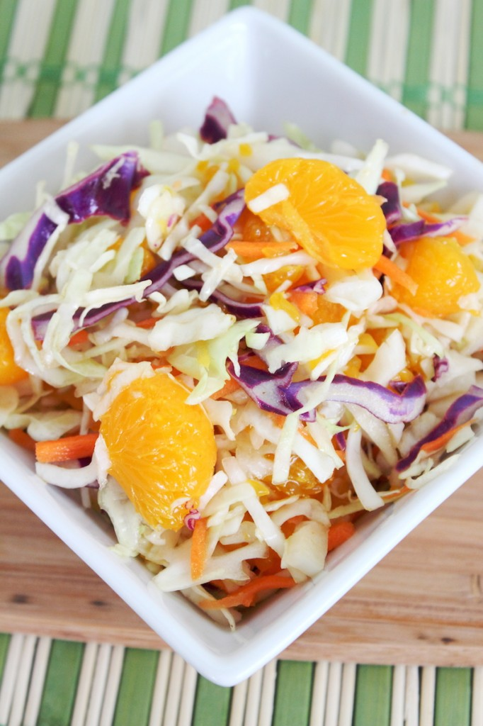 Summer Citrus Asian Coleslaw Recipe