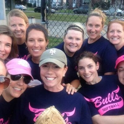 ladies softball team