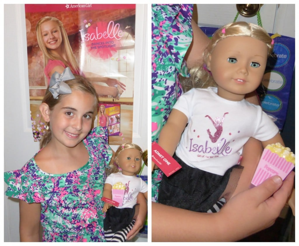American Girl Doll Party Celebrating Release Of American Girl Doll Isabelle