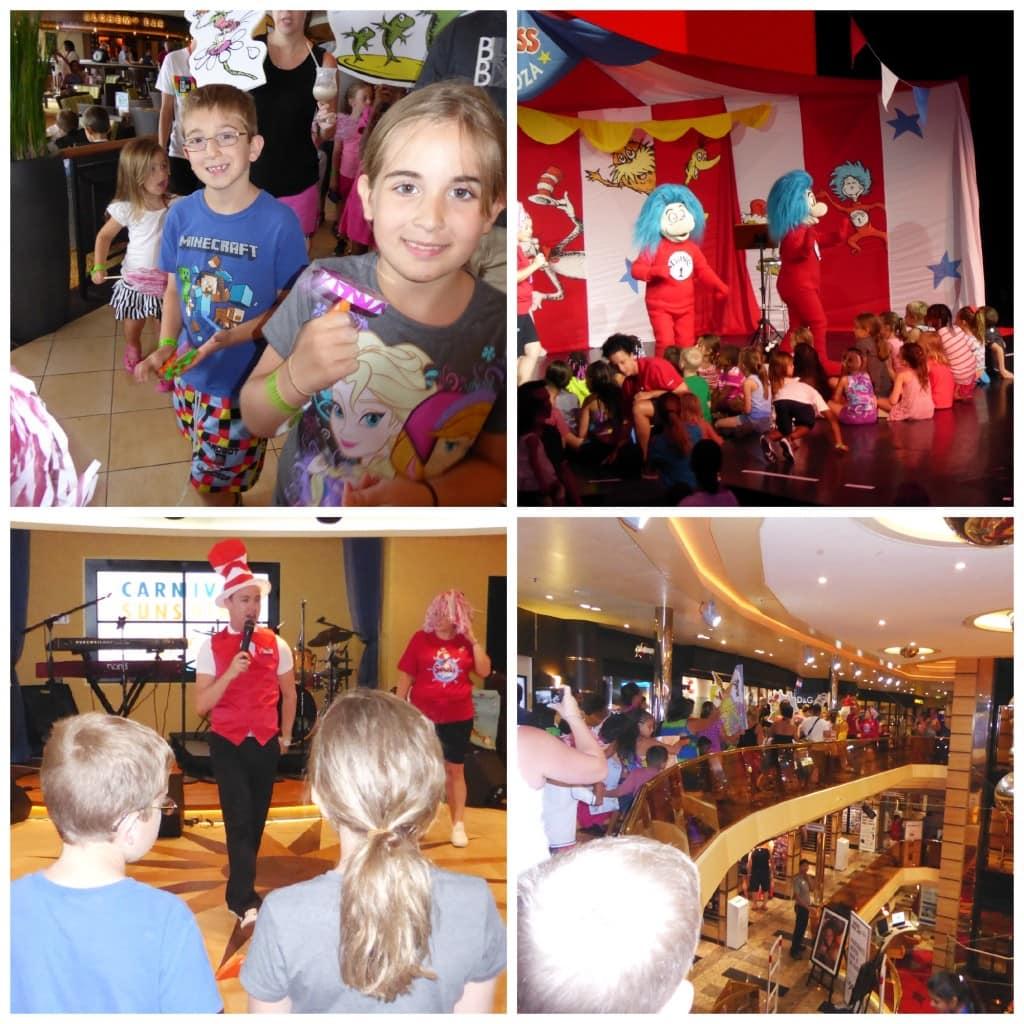 Carnival Sunshine Dr. Seuss Parade Read Along