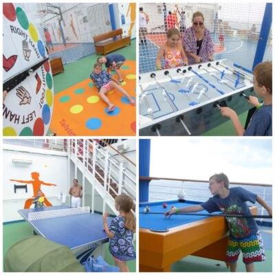 Carnival Sunshine SportsSquare
