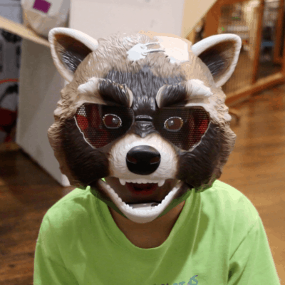 Guardians Of The Galaxy Rocket Raccoon Mask: Toy Review