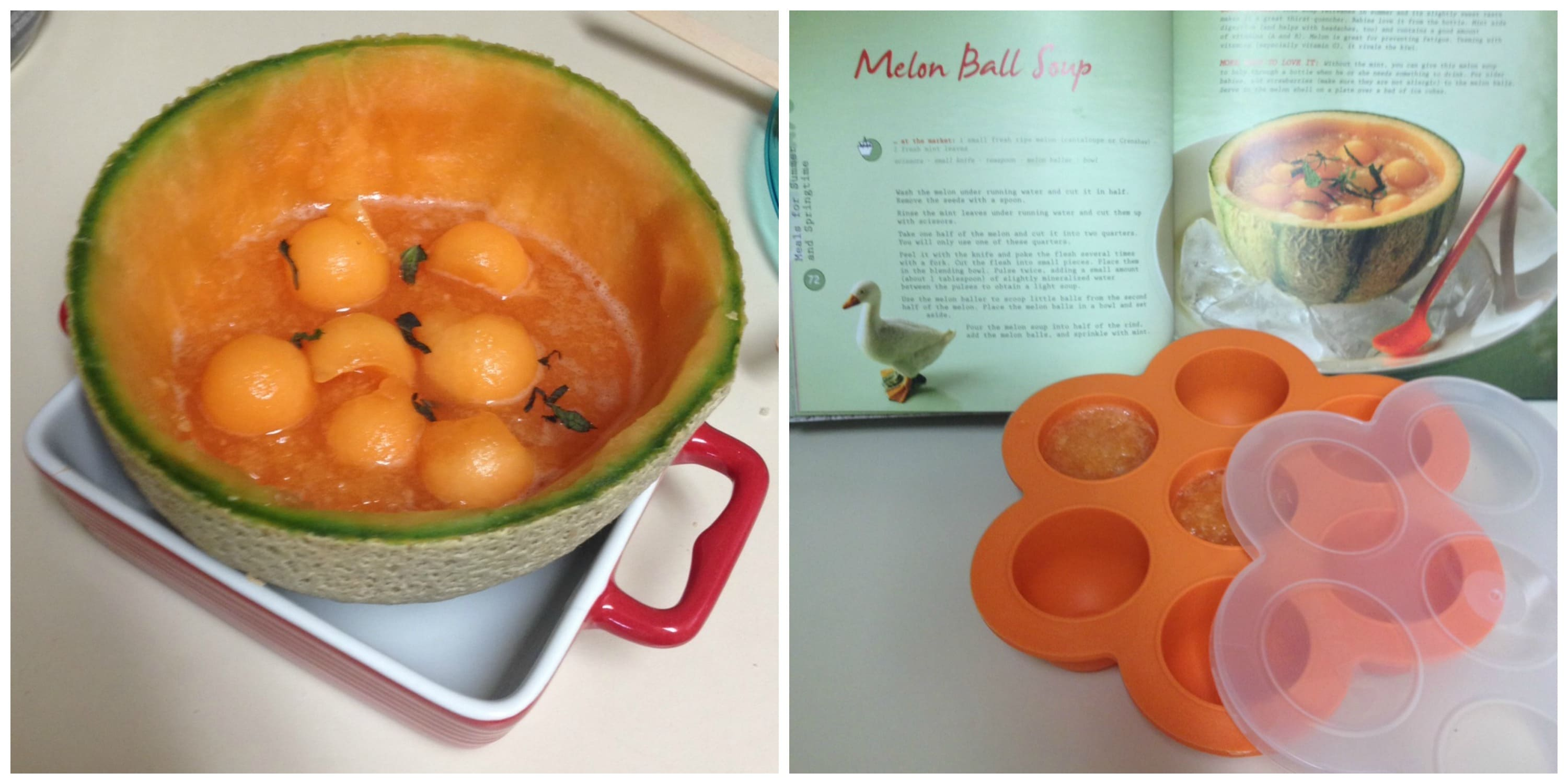 making baby food at home with the Beaba Babycook