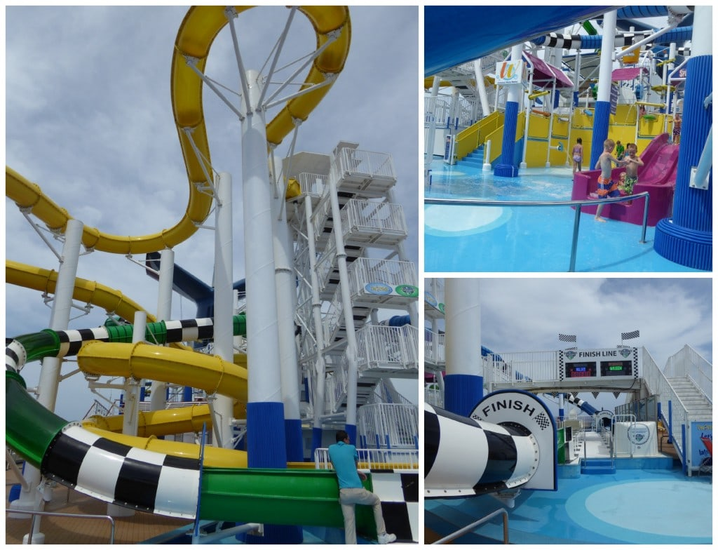 Carnival Sunshine Cruise Waterworks