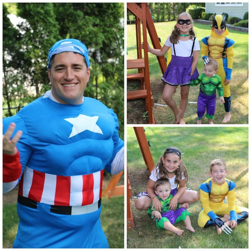 Family Superhero Costumes To Celebrate The Comic-Con Spirit