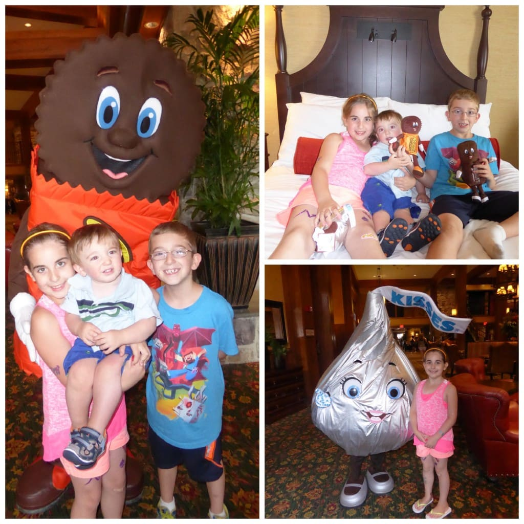 Hershey Lodge Hershey's Kisses kids photo