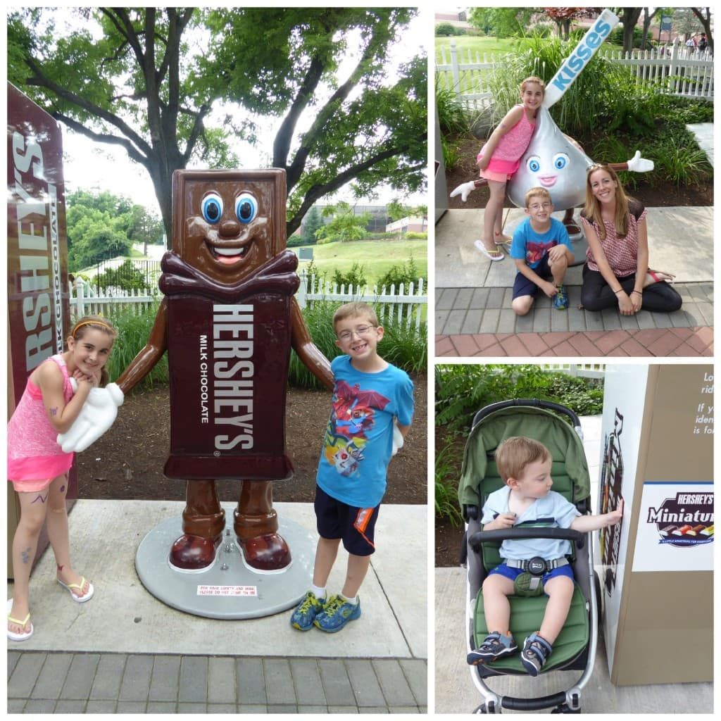 height measurement Hershey's Milk Chocolate Hershey's Park