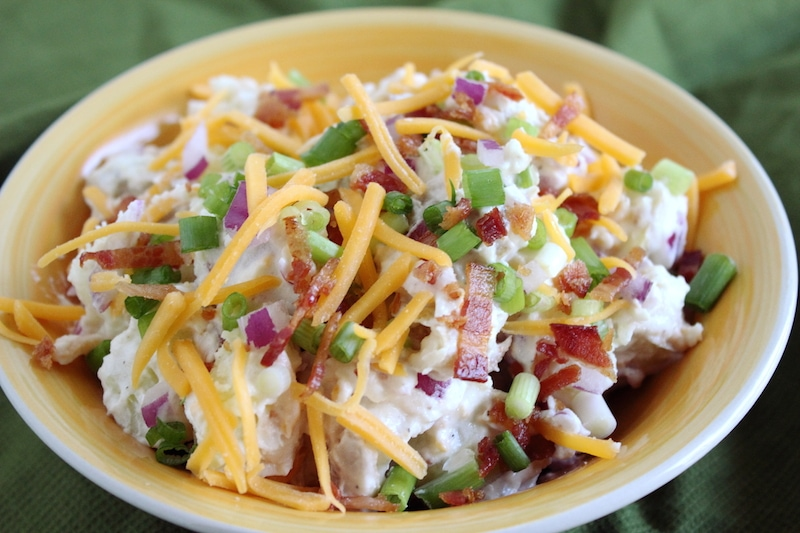 loaded baked potato salad recipe