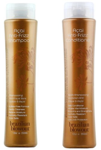 Brazilian Blowout Anti-Frizz Shampoo & Conditioner